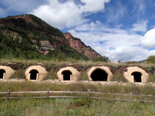 The coke ovens near Marble, Colorado.