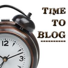 Time to Blog