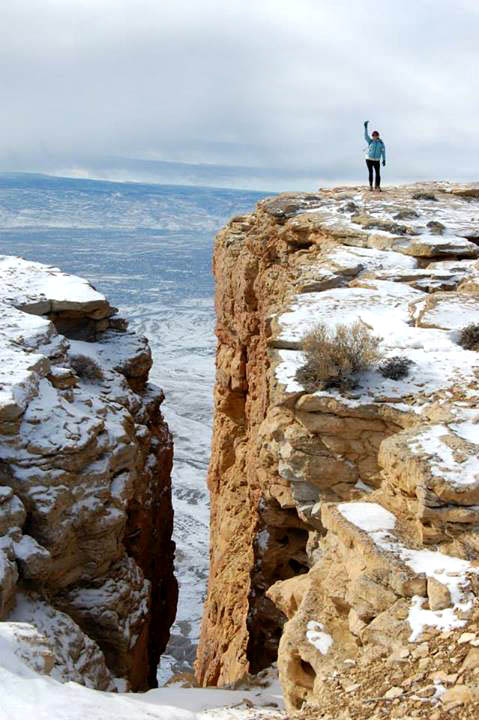 Me, on my 48th birthday, near the summit of Mt. Garfield.