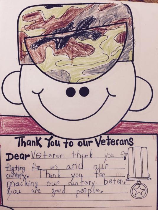 Veteran Letter 1