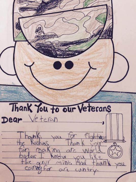 Veteran Letter 2