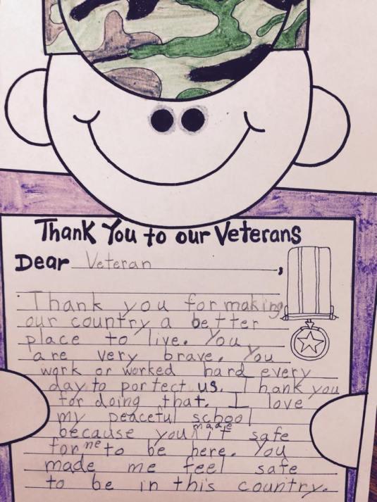 Veteran Letter 3
