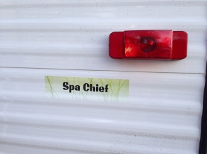 Spa Chief Sticker